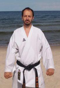 Sensei Tomasz Wachowicz – 1 Dan (czarny pas)
