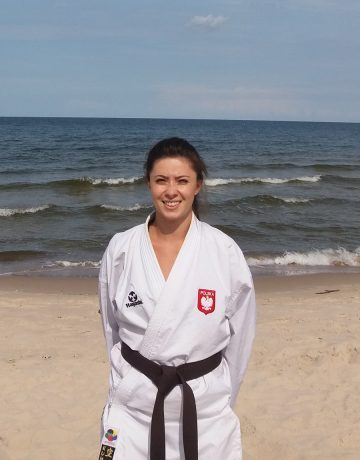 Sempai Natalia Leśniak – 2 Kyu (brązowy pas)