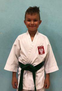 Brunon Giers – 6 Kyu (zielony pas)