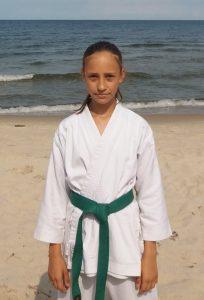 Małgorzata Czuba – 6 Kyu (zielony pas)