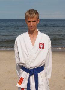 Michał Brysik – 5 Kyu (niebieski pas)