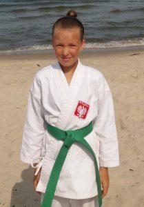 Zuzanna Leśnik – 6 Kyu (zielony pas)
